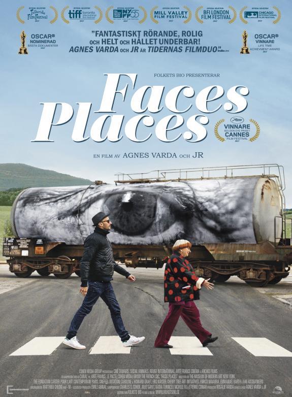 Faces, Places – på resa med Agnès Varda och JR poster