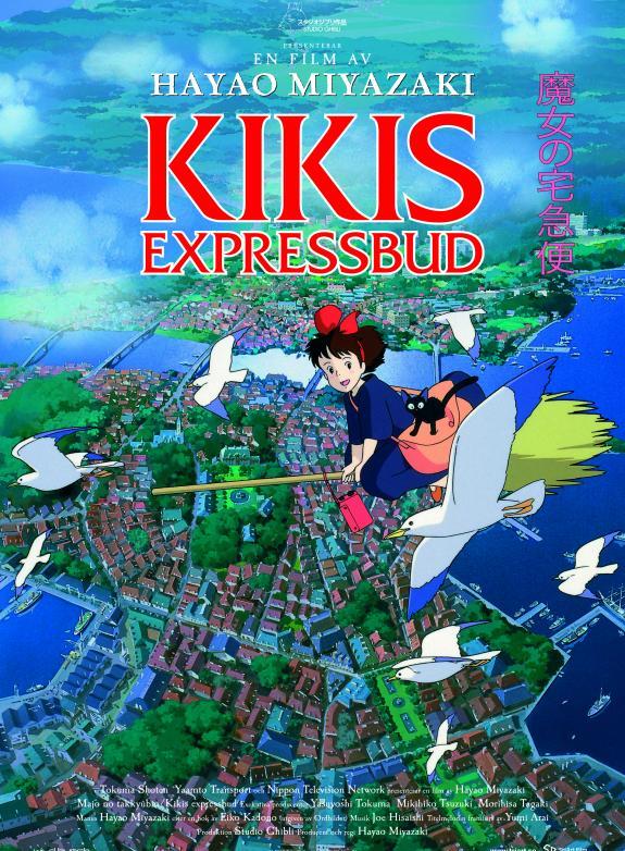 Kikis expressbud poster
