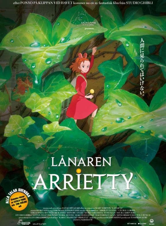 Lånaren Arrietty poster