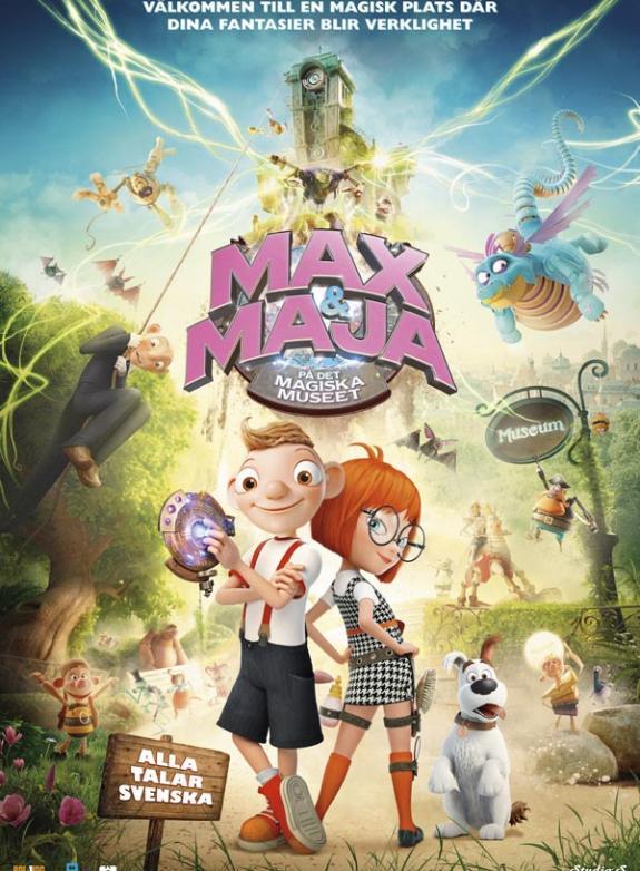 Max & Maja på det magiska museet poster