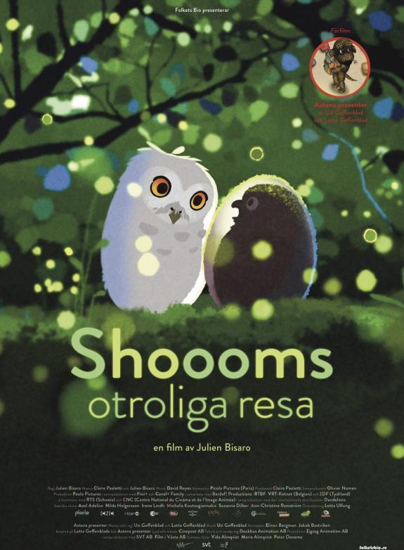 Shoooms otroliga resa poster