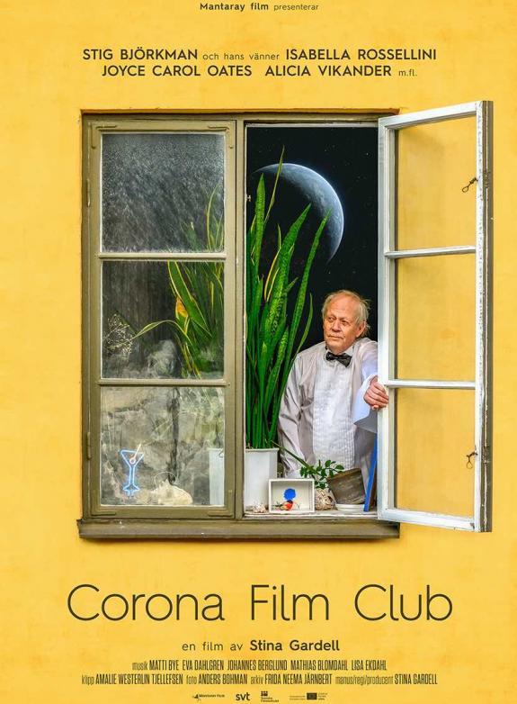 Corona Film Club poster