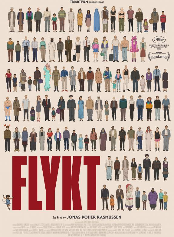 Flykt poster