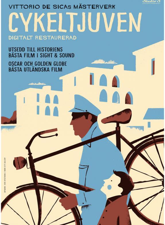 Cykeltjuven poster