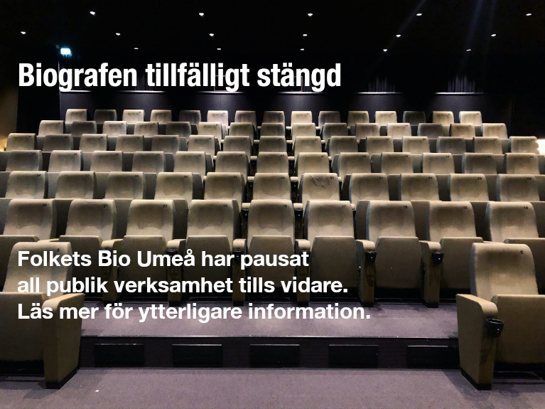 Biografen tillfälligt stängd